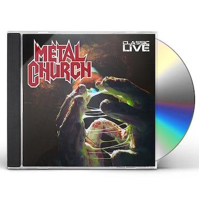 Metal Church CLASSIC LIVE CD