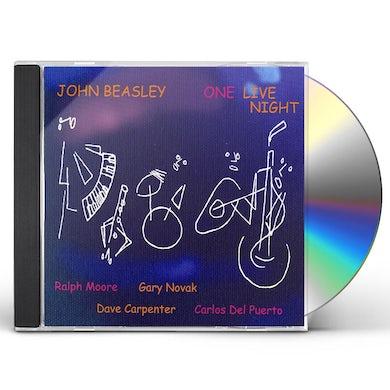 John Beasley ONE LIVE NIGHT CD