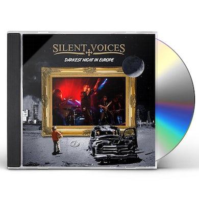 Silent Voices DARKEST NIGHT IN EUROPE (LIVE) CD
