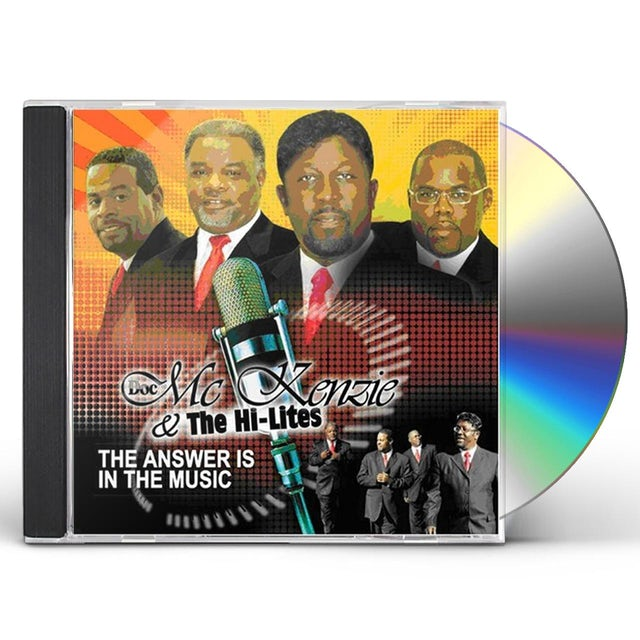 Doc Mckenzie ANSWER IS THE MUSIC CD