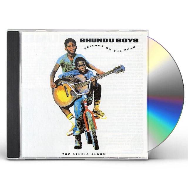 Bhundu Boys FRIENDS ON THE ROAD CD