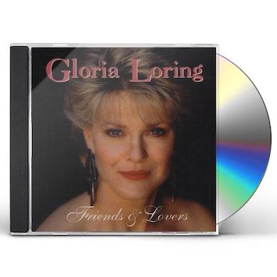 Gloria Loring FRIENDS & LOVERS CD