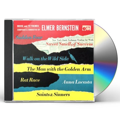 Elmer Bernstein MOVIE & TV THEMES CD