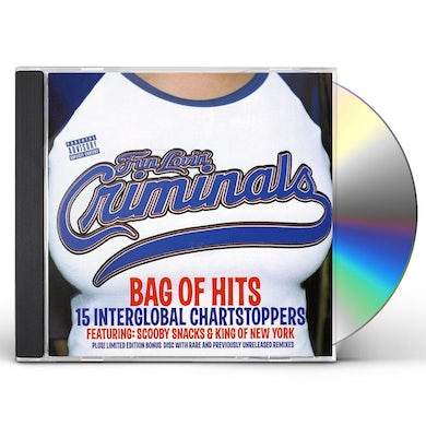 Fun Lovin Criminals BAG OF HITS CD