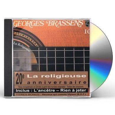 Georges Brassens LA RELIGIEUSE CD