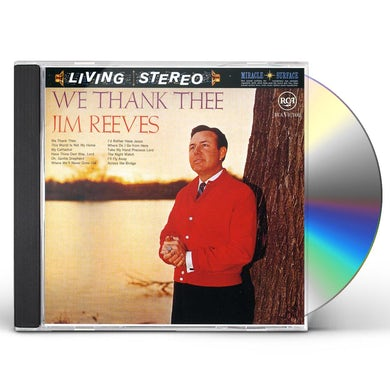 Jim Reeves WE THANK THEE CD