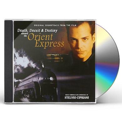 Stelvio Cipriani DEATH DECEIT & DESTINY ABOARD THE ORIENT EXPRESS CD