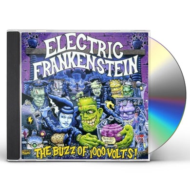Electric Frankenstein BUZZ OF A 1000 VOLTS CD