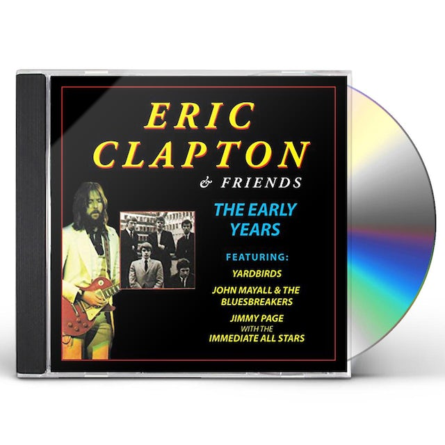 Eric Clapton FRIENDS THE EARLY YEARS CD