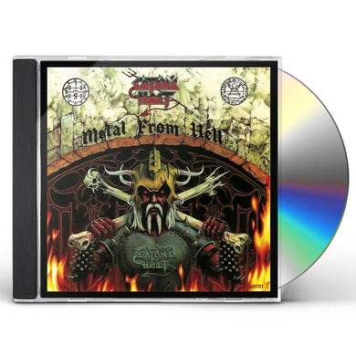 Satan'S Host METAL FROM HELL CD