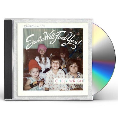Chely Wright SANTA WILL FIND YOU CD