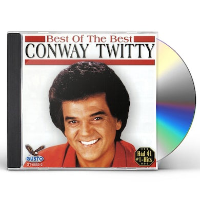 Conway Twitty BEST OF THE BEST CD