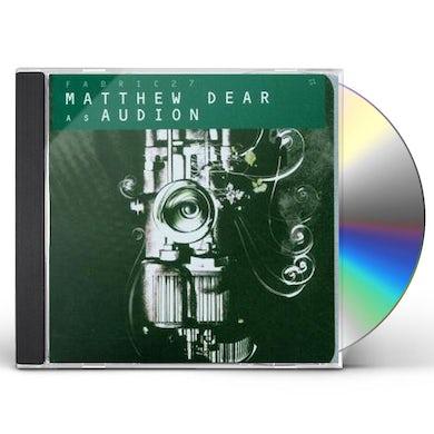 Matthew Dear FABRIC 27 CD