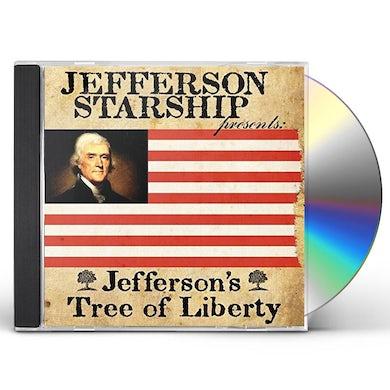 Jefferson Starship JEFFERSON'S TREE OF LIBERTY CD