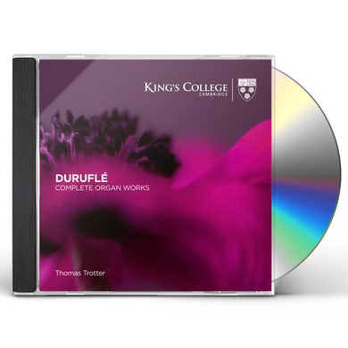 Thomas Trotter Durufle: Complete Organ Works CD