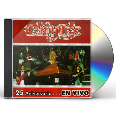 Tam Y Tex 25 ANIVERSARIO: EN VIVO CD