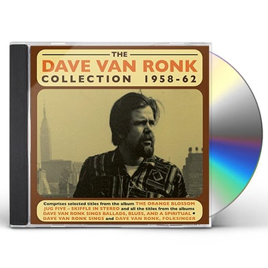 DAVE VAN RONK COLLECTION 1958-62 CD