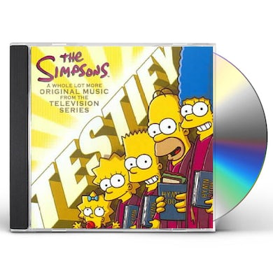 Simpsons Testify (Original Music From The Television Series CD