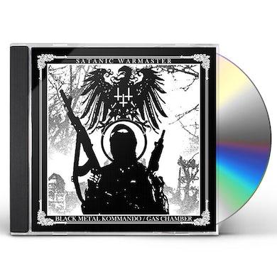 Satanic Warmaster BLACK METAL KOMMANDO / GAS CHAMBER CD