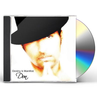 Don DESTINY IS MANIFEST CD