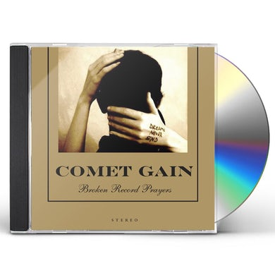 Comet Gain BROKEN RECORD PRAYERS CD