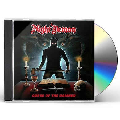 NIGHT DEMON CURSE OF THE DAMNED CD