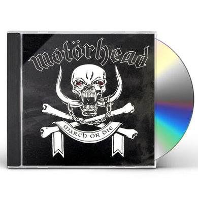 Motorhead MARCH OR DIE CD
