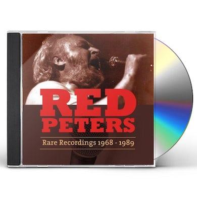 Red Peters RARE RECORDINGS (1968-1989) CD