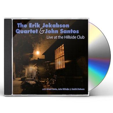 Erik Jekabson LIVE AT THE HILLSIDE CLUB CD