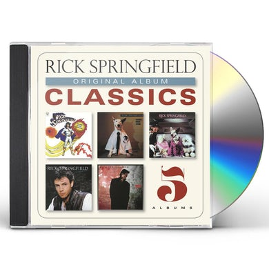 Rick Springfield ORIGINAL ALBUM CLASSICS CD