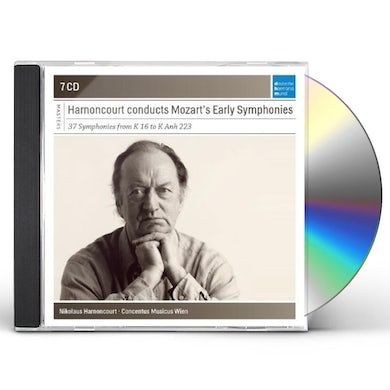 Nikolaus Harnoncourt CONDUCTS MOZART'S EARLY SYMPHONIES CD