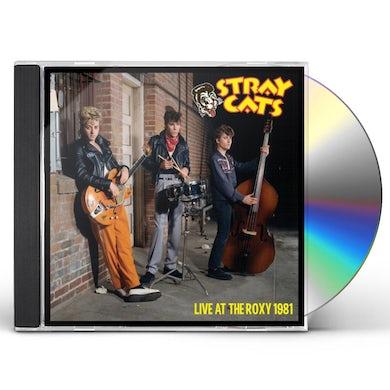 Stray Cats LIVE AT THE ROXY 1981 CD