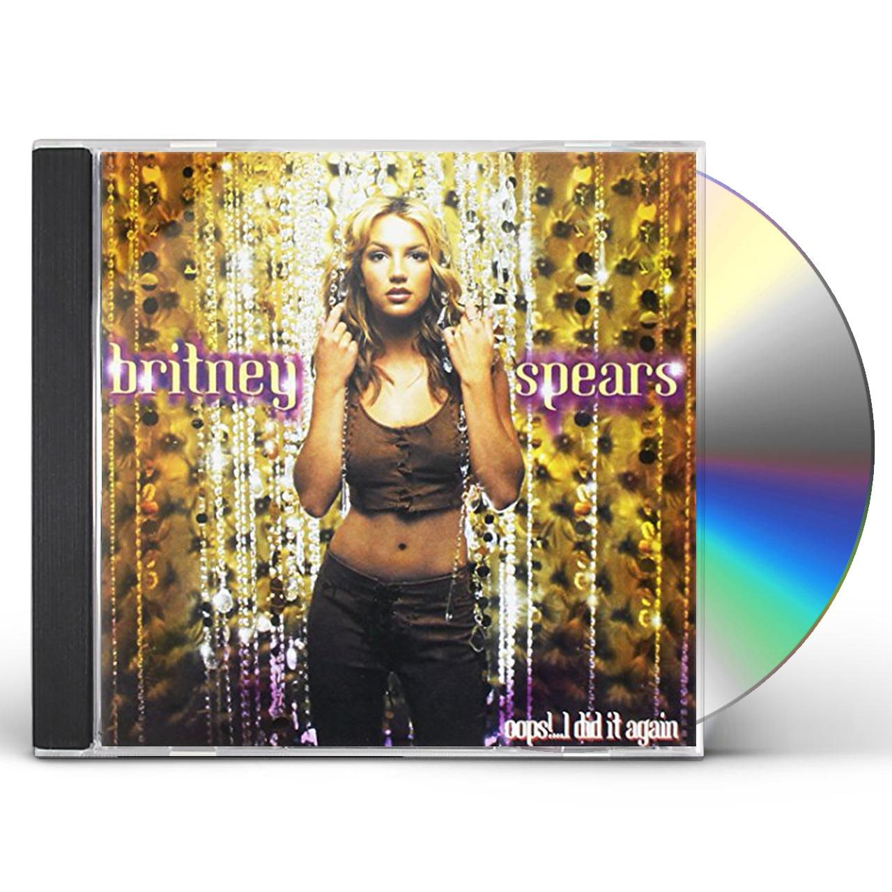Britney Spears Oops I Did It Again Gold Series Cd
