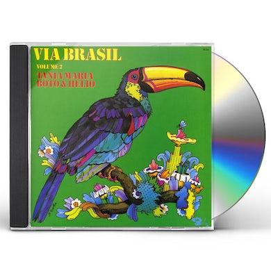 Tania Maria VIA BRASIL 2 CD