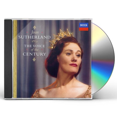 Joan Sutherland VOICE OF THE CENTURY CD