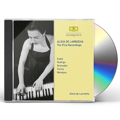 Alicia de Larrocha FIRST RECORDINGS CD
