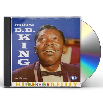 MORE B.B. KING CD