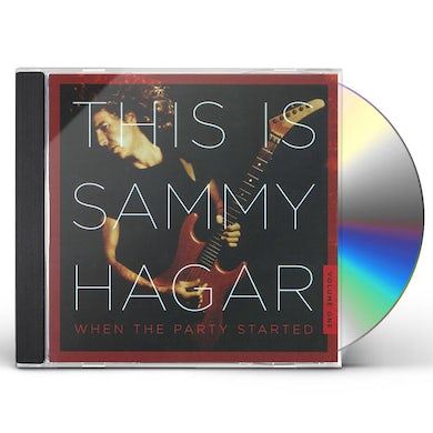 This Is Sammy Hagar: When The Party Started Vol. 1 CD