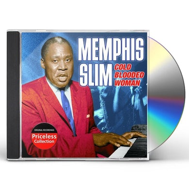 Slim Memphis  COLD BLOODED WOMAN CD