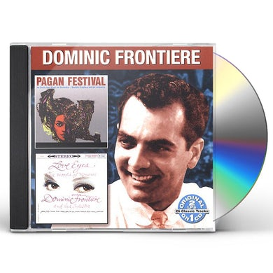 Dominic Frontiere PAGAN FESTIVAL / LOVE EYES CD