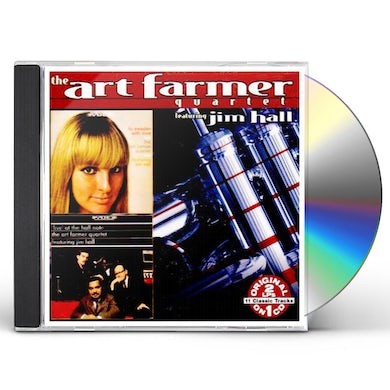 Art Farmer TO SWEDEN WITH LOVE: LIVE AT THE HALF TONE CD