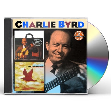 Charlie Byrd TRAVELIN MAN / TOUCH OF GOLD CD
