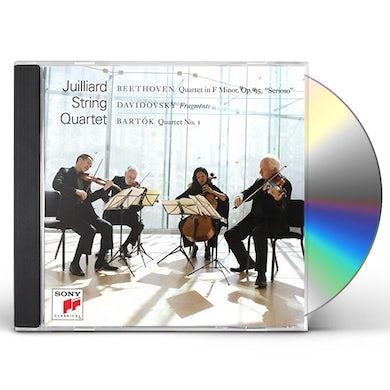 Juilliard String Quartet BEETHOVEN / DAVIDOVSKY / BARTOK CD