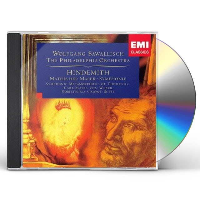 Hindemith ORCHESTRAL WORKS CD