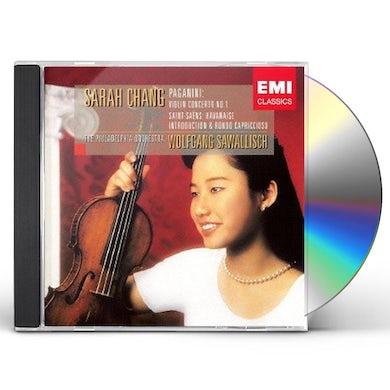 Sarah Chang PAGANINI & SAINT-SAENS CD