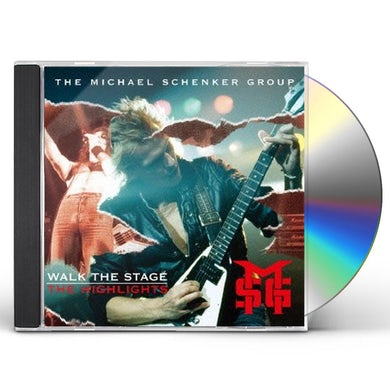 Michael Group Schenker WALK THE STAGE: THE HIGHLIGHTS CD