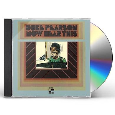 Duke Pearson NOW HERE THIS CD