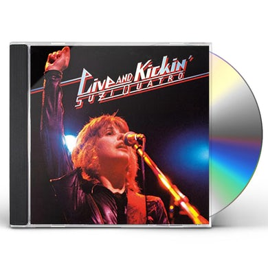 Suzi Quatro LIVE & KICKIN CD