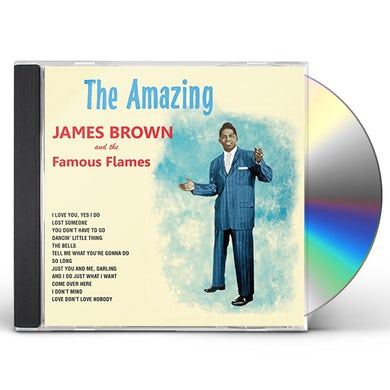 AMAZING JAMES BROWN CD