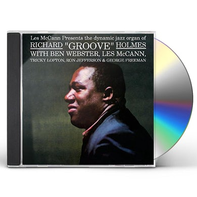 Richard Groove Holmes GROOVE CD